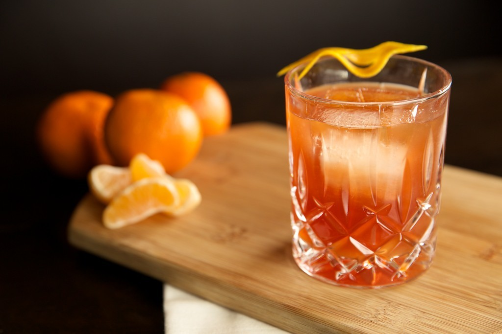 Sunkist Cocktail , cocktail. recipe, Winter Spice