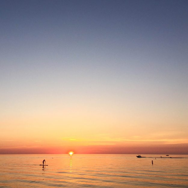 Grand Bend, Sunset, beach, Blue Flag Beaches In Southwest Ontario