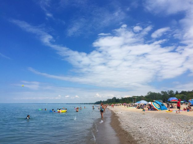 Grand Bend, Blue Flag Beach, Ontario