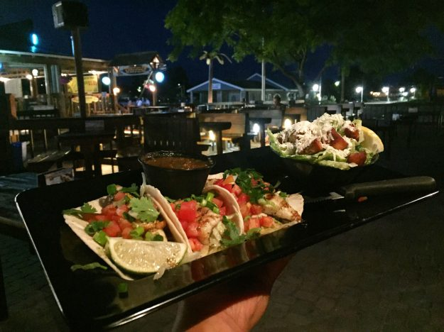 GT's Beach Bar and Grill, Perch Tacos, Port Stanley