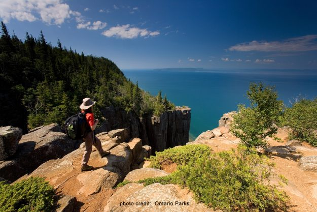 Thunder Bay, Ontario, Sleeping Giant Provincial Park, view from top