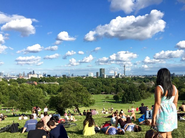 Best Views Of London Free Primrose Hill England