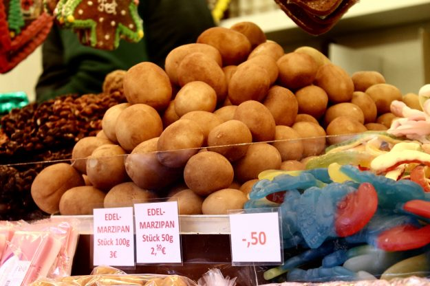 christmas market foods in germany marzipan