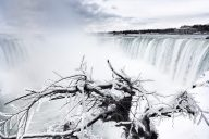 Niagara Falls In The Winter, Journey Behind The Falls