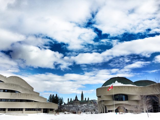 Canadian Museum of History, Ottawa In The Winter, Winterlude, weekend getaway Ontario, museum