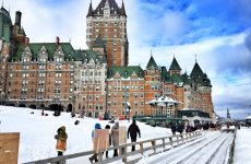 Quebec Winter Carnival Guide, Quebec City, winter in Canada, Fairmont Le Château Frontenac