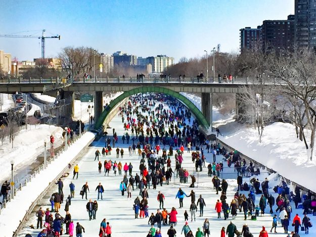 Rideau Canal, Ottawa In The Winter, Winterlude, weekend getaway Ontario