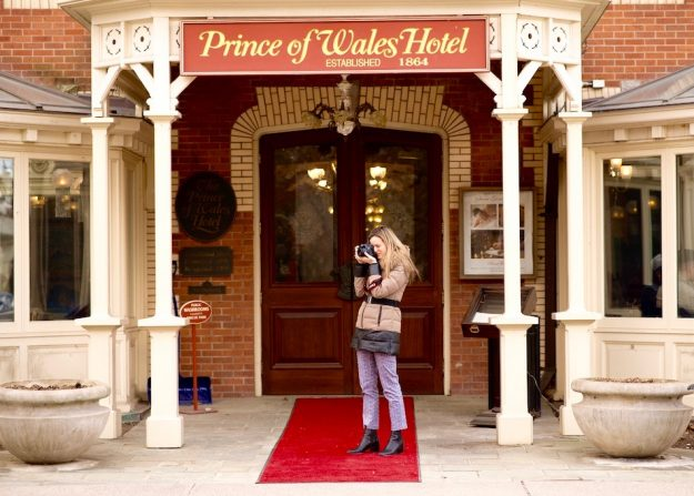Prince of Wales Hotel In Niagara-on-the-Lake, tea experience in Ontario, luxury hotel