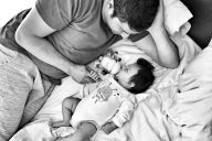 To My Husband On Your First Father's Day, Huggies Hug Plan