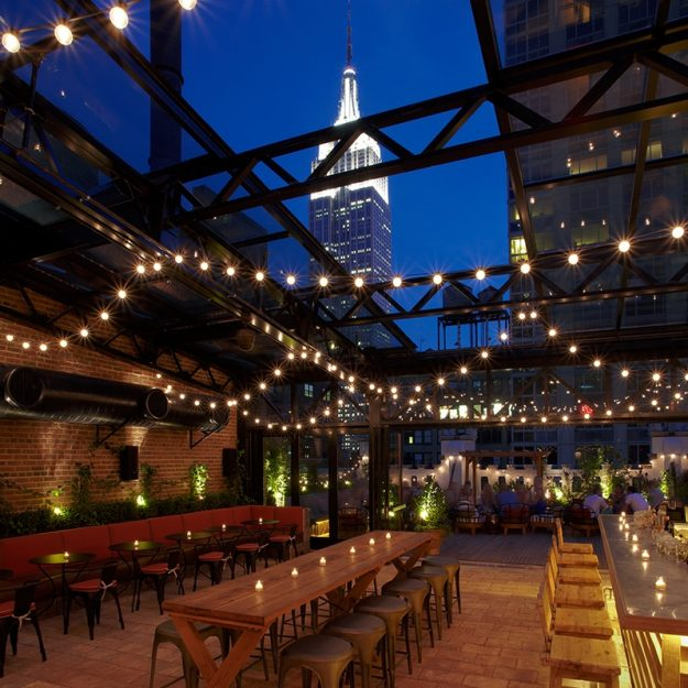 View at Refinery Rooftop NYC