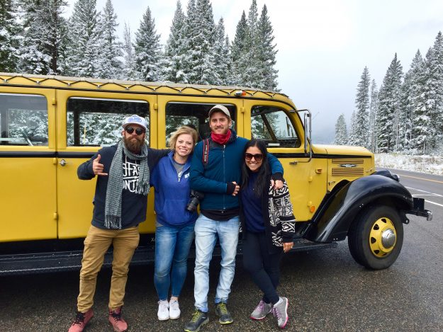 Insider Tips For Visiting Yellowstone National Park, historic yellow bus tour