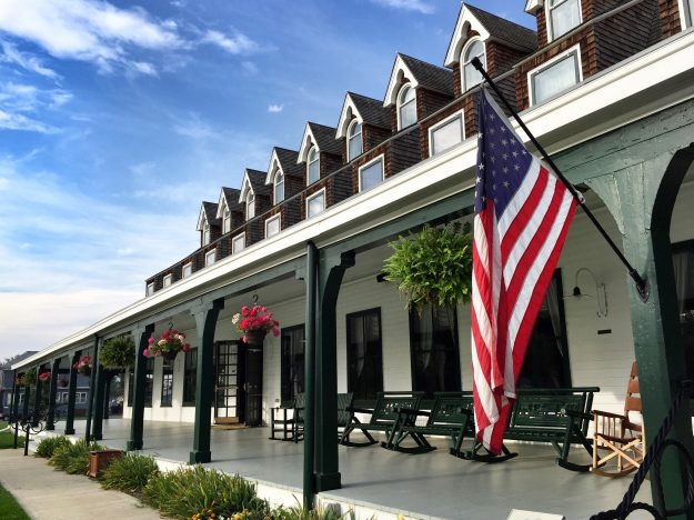 Road Trip Itinerary Through Wyoming, Sheridan Inn Hotel