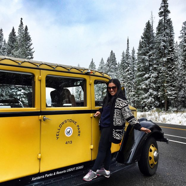 Road Trip Itinerary Through Wyoming, Yellowstone, Historic Yellow Bus Tour