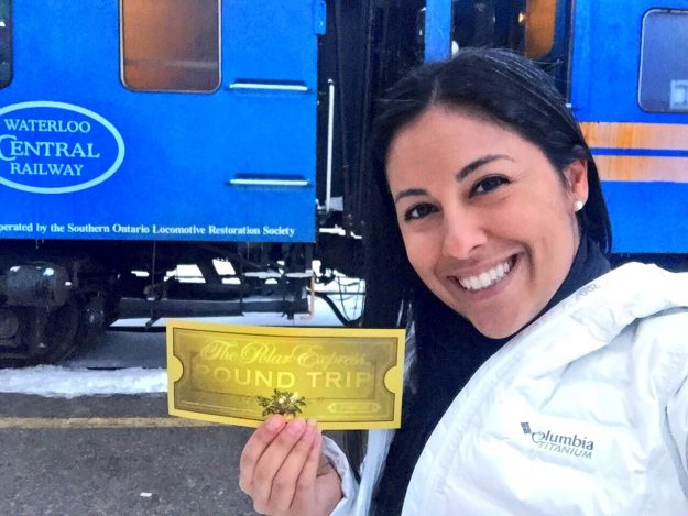 Polar Express on Waterloo Central Railway, Celebrating The Holidays In Waterloo Region