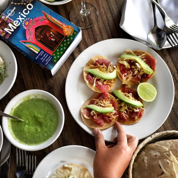 Girls' Getaway To Mexico City, what to eat, Contramar