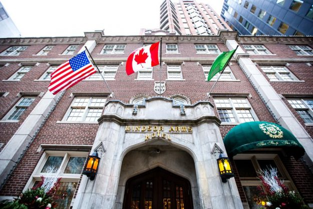 Romantic Getaways Toronto - Our Staycation At The Windsor Arms Hotel