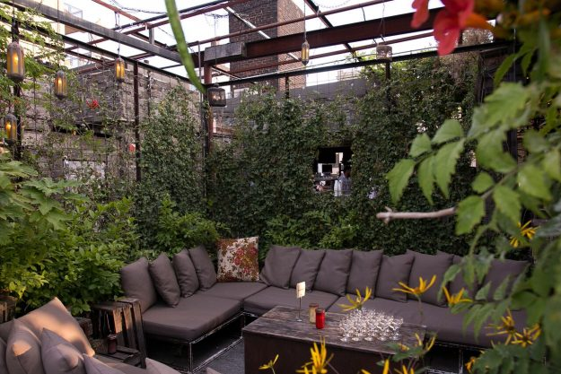Gallow Green Rooftop Patio In NYC