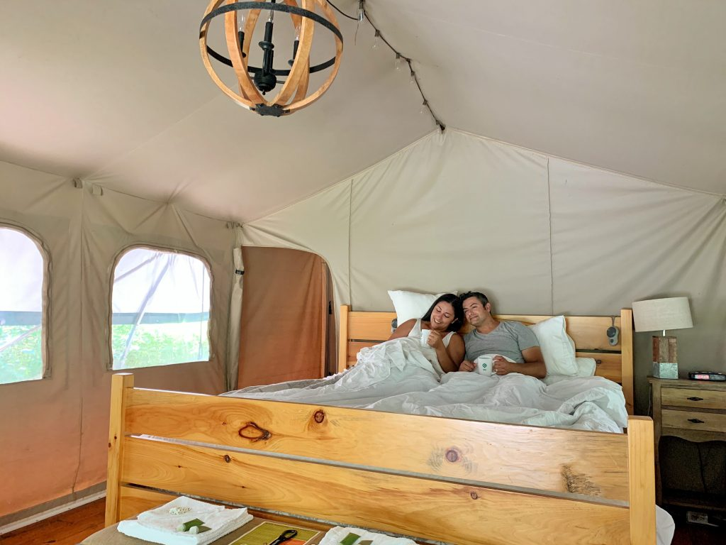 Glamping At Long Point Eco Adventures: A Romantic Getaway ...